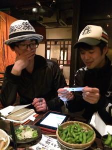 久保田涼子トリオCDジャケットミーティング