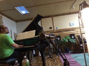 久保田涼子トリオレコーディング
