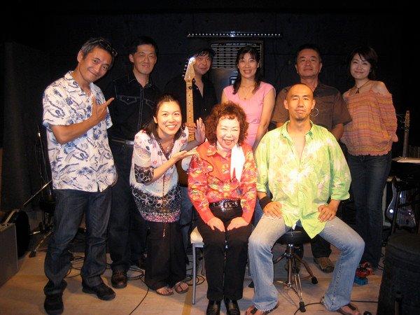 トミ藤山 Hiroshimaミーティング@KAPONE、愛と平和のウッドストックコンサート
