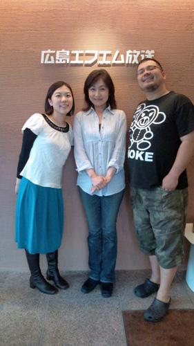 4/24 広島FM「アンデルセン サタデーアコースティックラウンジ」出演